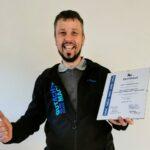 Roland Henne und Zak-Zertifizierung